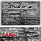 Wall panel, Rubber molds for bricks, Concrete brick molds, Rubber mold, DIY mold, 3D silicone form, Silicone mold gypsum concrete, R011