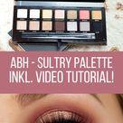 Anastasia Beverly Hills Sultry Eyeshadow Palette - Sabrinasbeautyparadise - Make Up und Hautpflege Blog seit 2013