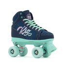 Rio Roller Lumina Quad Roller Skates - Navy & Green - UK 1