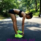 Neon Running Shoes