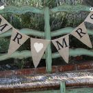 Burlap Banner Wedding