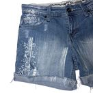 ZD Premium Distressed Bleached Shorts - Size 9