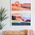 EASY DIY: Removable Wallpaper Tutorial