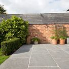 Worn grey limestone tiles   Natural stone tiles   mystonefloor