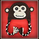 Crochet Monkey Hat