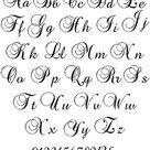 Large Handwriting Cross Stitch Alphabet, Large Cross Stitch Font, Monogram Cross Stitch Alphabet, Cursive Font Cross Stitch
