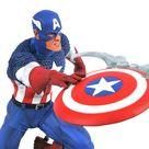 Marvel Comic Gallery Captain America Statue 25cm