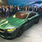 La BMW Concept M8 Gran Coupé révéléeau salon de Genève    Photo 1