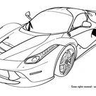 Ferrari coloring pages