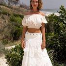Long Boho Skirt, Drape Layered Skirt, Pixie Skirt, Hippie Maxi Skirt, Alternative Wedding Skirt