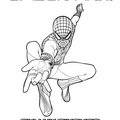 The amazing spidey climbing coloring pages - Hellokids.com