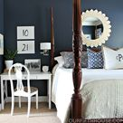 Blue White Bedrooms
