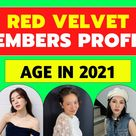 ALL Red Velvet Band Members Age In 2021 - OLD to Young [UPDATED]