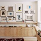 Neil Dusheiko creates home for father-in-law featuring a wall of art