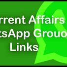 Current Affairs Whatsapp Group Links Full List