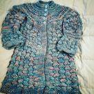 Knitting Pattern Elisa cardigan 6 months to 14   Etsy