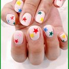 20 Dreamy Star Nail Designs That are Too Cute Not to Get