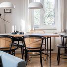Mix & Match: So kombiniert man unterschiedliche Esszimmer-Stühle