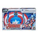 Marvel Mech Strike Captain America Strikeshot Shield - Multi/Colour