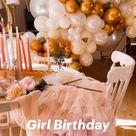 Girl Birthday Decor
