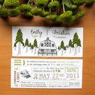 Forest Wedding Invitations