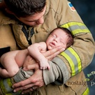 Newborn Firefighter