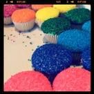 Sprinkle Cupcakes