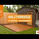 Holzterrasse selber bauen: So gehen Sie vor