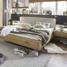 Stylform BONN Bianco Semi Solid Oak Modern Bed