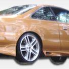 Extreme Dimensions Rear Bumper Acura CL 2001 2003 Duraflex Cyber Style
