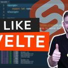 I Tried Svelte and I LOVE It!! Favorite Features vs React