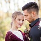 Bridal Bolero, Burgundy Shawl, Winter Wedding Dress Cover Up, Crochet Capelet for Bride