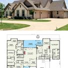 5-Bedroom 2-Story Tuscan Villa House Plan with In-Law Suite (Floor Plan)