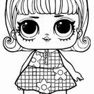 LOL Puppen Ausmalbilder Kostenlos| Kinder Für Malvorlagen