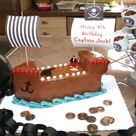 Pirate Ship Cakes