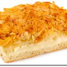 Rezept drucken: Bienenstich Blech Kuchen