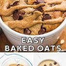 Blended Oats (Tiktok Viral Recipe) - Little Sunny Kitchen