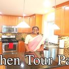 அமெரிக்காவில் எங்கள் வீட்டு சமையலறை    USA house kitchen Tour in Tamil   Part 1