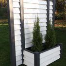 Mobiler Sichtschutzzaun m Pflanzkasten Sichtschutz Element 170x190 NEUHEIT   Garten & Terrasse, Gartenzäune & Sichtschutzwände, Sicht- & Lärmschutzwände   eBay!