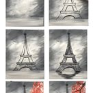 How To Paint An Eiffel Tower