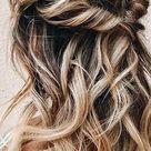 37 beautiful half up half down hairstyles for the modern bride   TANIA MARAS   bespoke wedding headpieces + wedding veils