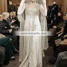 Off white Nikah Outfit Persian Wedding Dresses Pakistani Nikah Dresses