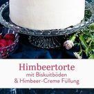 Rezept für Himbeertorte mit Biskuitböden | Madame Dessert