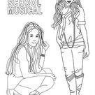 Printable Coloring Book High School Musical 7
