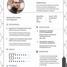 Civil Engineer Resume/CV Template - Word | PSD | Apple Pages | Publisher