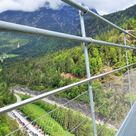 Highline 179. (2014)  Longest pedestrian suspension bridge in the world.  347 feet high, 1332 feet long. Reutte, Austria. 2015