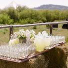 Hay Bale Wedding