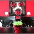 Ladybug Party Centerpieces