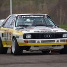 Audi Quattro. The most successful rally car in the 1980s.