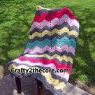 Chevron Crochet Blankets